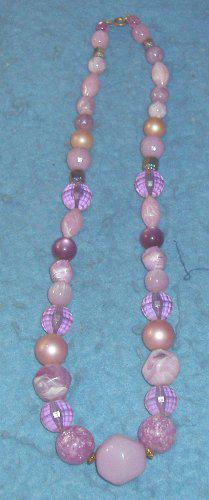 Various Purples Necklace B4221
