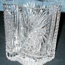 Vase, Cut Crystal Y183