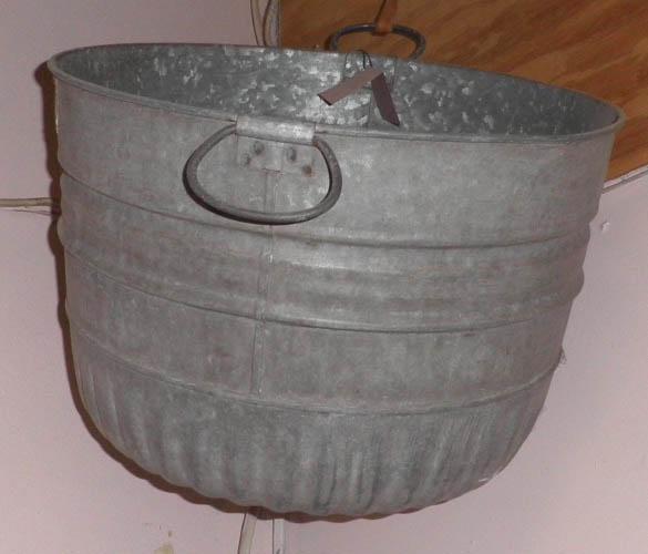 Wash Tub Galvanized B4853