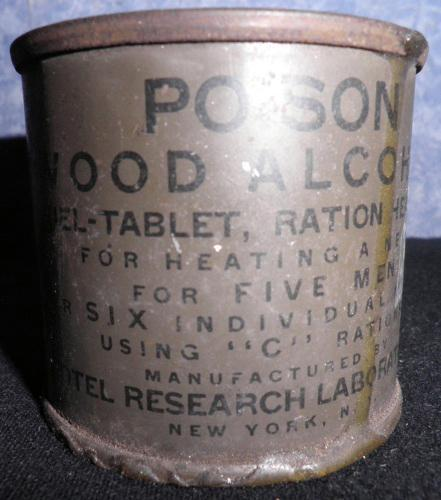 Wood Alcohol Can F195