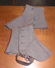 Wool Spats B4646