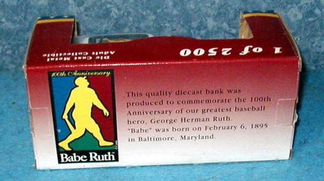 Bank  - Babe Ruth Limited Edition