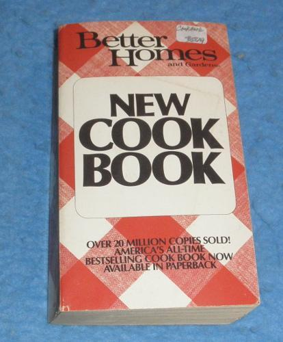 Cookbook - Better Homes and Gardens New Cook Book