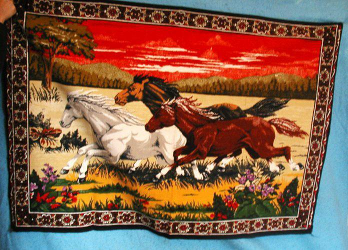 Horse Tapestry B2651