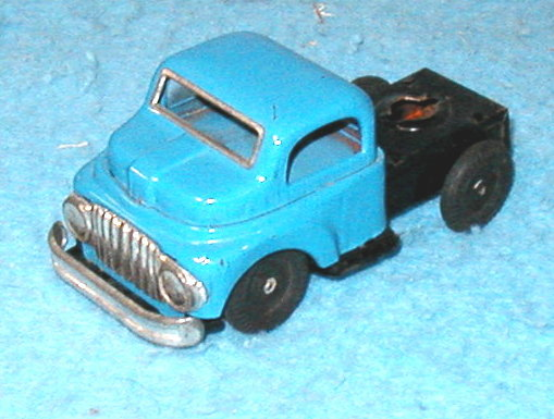 Tractor Cab - Blue  B3174