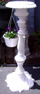 Candle Stick Stand - Metal  Outside