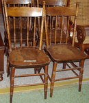 Chairs - Set of 6 Bleeding Heart Pattern