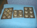 Vintage Muffin Tins Dessert--Set of 3