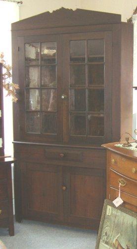 Corner Cupboard 2 piece