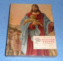 Vintage Jesus with Lamb Puzzle
