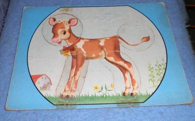 Vintage Child's Calf Puzzle