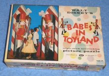 Vintage Disney Babes in Toy Land Puzzle