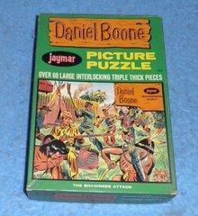 Vintage Daniel Boone Puzzle