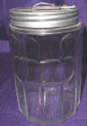 Repro Hoosier Colonial Glass Tea Jar - Original