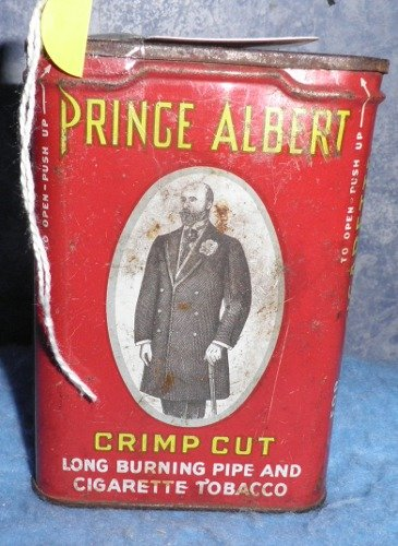 Vintage Prince Albert Tin