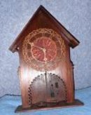 Clock - Teakwood