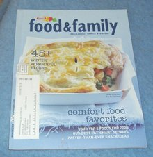 Vintage  Magazine - Food and Family