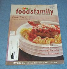 Vintage Magazine - Food and Family Fall 2005