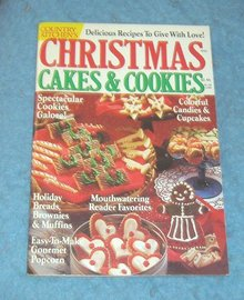 Vintage Magazine - Christmas Cakes and Cookies 1991