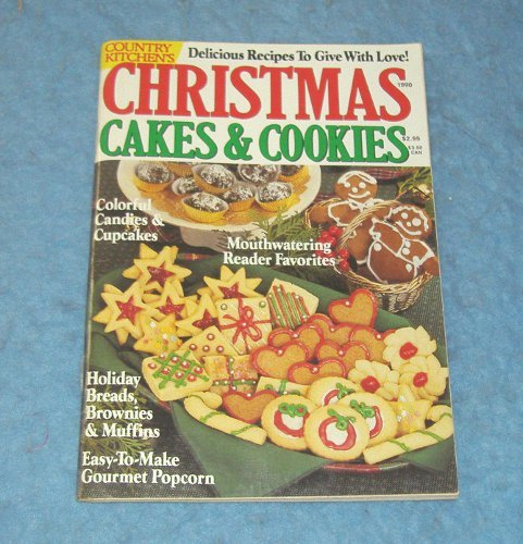Vintage Magazine - Christmas Cakes and Cookies 1999