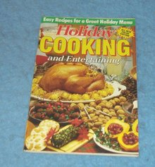 Vintage Magazine - Holiday Cooking 1990