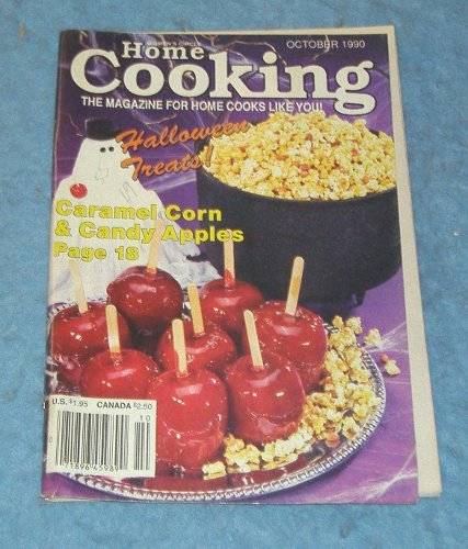 Vintage Magazine - Home Cooking October 1990