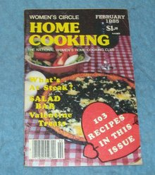 Vintage Magazine - Home Cooking February 1985