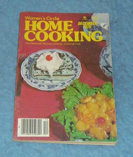 Vintage Magazine - Home Cooking December 1978