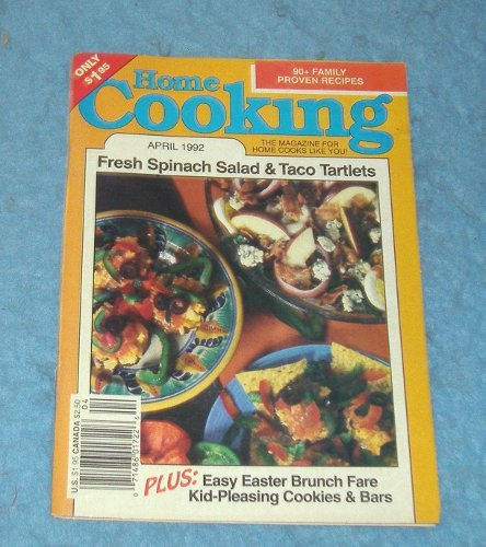 Vintage Magazine - Home Cooking April 1992