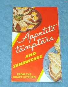 Vintage Cook Book Pamphlet - Appetite Tempters