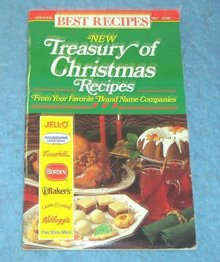 Vintage Magazine - Treasury of Christmas Recipes