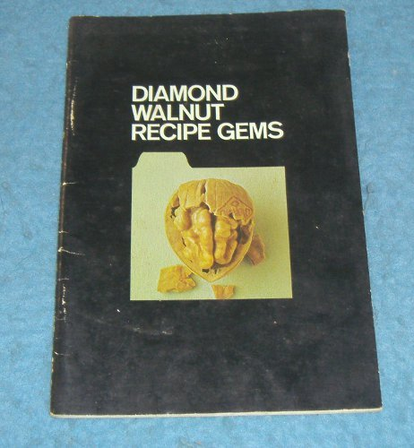 Vintage Pamphlet - Diamond Walnut Recipe Gems