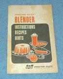 Manual - Proctor Silex Blender