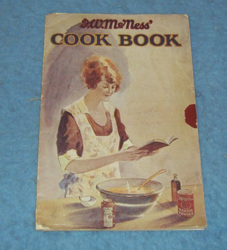 Vintage Cook Book - F. W. McNess