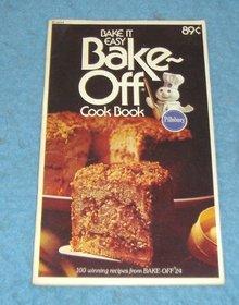 Vintage Cook Book - Pillsbury Bake-Off