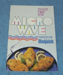 Vintage Cook Book - Microwave with Bisquick