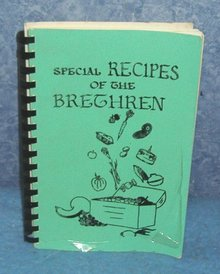Vintage Cookbook - Special Recipes of the Brethren