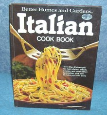 Vintage Cookbook - Better Homes and Gardens Italian