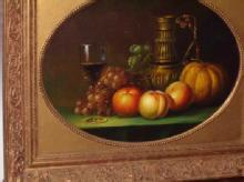Painting - P154w Fruit Amazing Oil On Canvas Painting