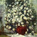 Geoffrey Chatten's flowers Listed British painter