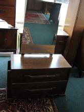 English Art Deco country Dressing Chest  Table