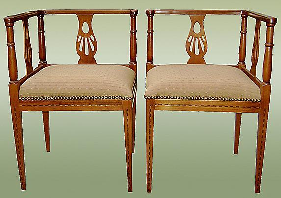 Finest English Art Deco period (1925) Salon Set.