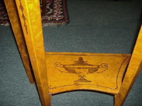 Stunning NapoleonIII Style Demi-lune Console Table