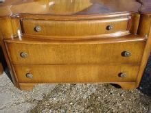 Amazing ART DECO 1930 Large Oak Vanity
