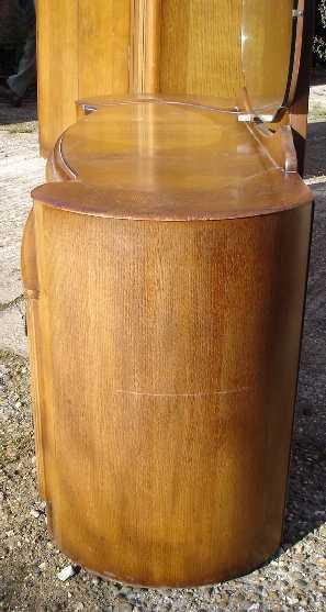 Amazing ART DECO 1930 Large Oak Vanity