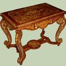 Full Marquetry Louis XIV style centre table