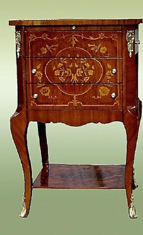 TOP Aristocratic Louis XV side Commodes-table