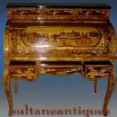 EXTRAORDINARY!! Russian tsar's style roll top desk