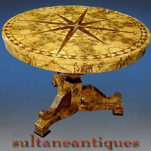 VERY BEST!!! Biedermeier style marquetry table