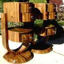 Unbelievable Art work PAIR Art Deco style commodes